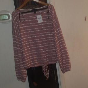 Forever 21 Tops - NWT red stripe top Forever 21